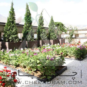 پروژه تراس سبز آقای باقری ۱۳۹۴