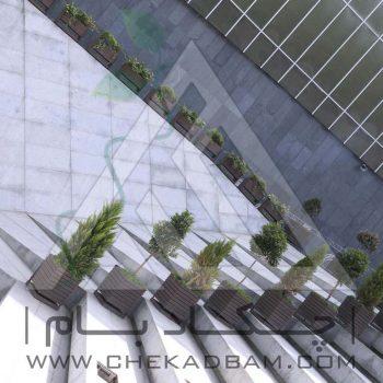 پروژه محوطه آرایی ارگ امیرکبیر تهران ۱۳۹4