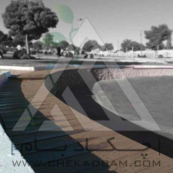 پروژه محوطه آرایی پارک اسلام آباد زنجان ۱۳۹۴