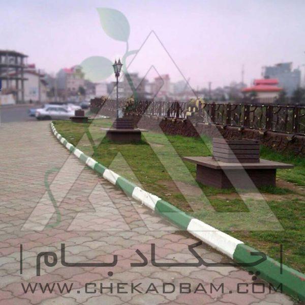 پروژه محوطه آرایی شهرداری رشت ۱۳۹۴