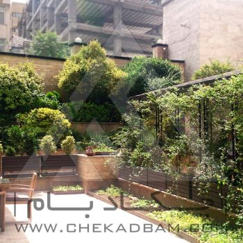 پروژه تراس سبز آقای صادقی 1394