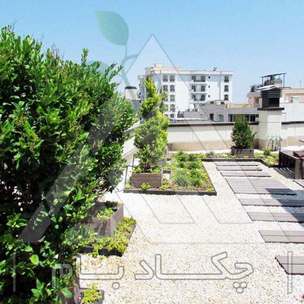 پروژه بام سبز آقای مرادی ۱۳۹۴