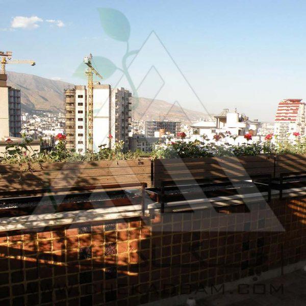 پروژه تراس سبز آقای امیری ۱۳۹4