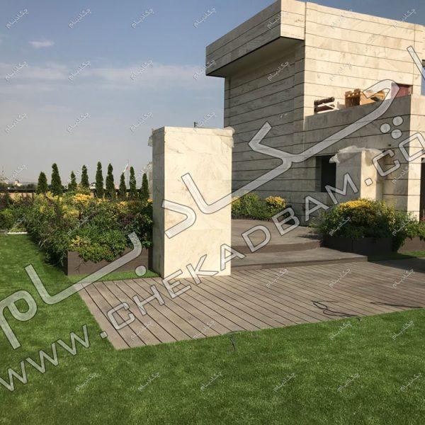 پروژه روف گاردن جناب اعتصامی -عکس پشت بام های زیبا