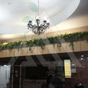 پروژه معماری داخلی سبز بیمارستان آتیه 1393