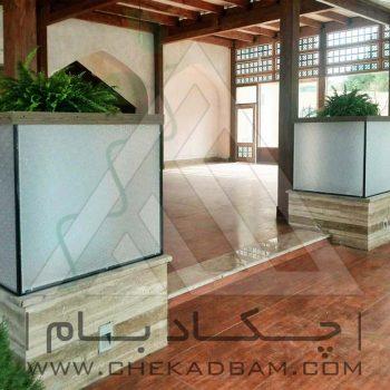 پروژه معماری داخلی سبز هتل صفائیه یزد ۱۳۹۳