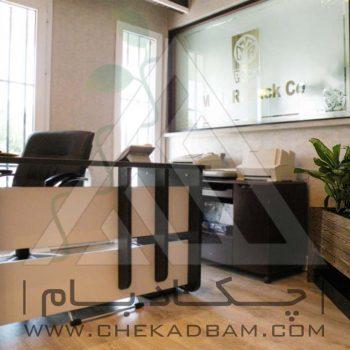 پروژه معماری داخلی سبز بانک صنعت و معدن 1393