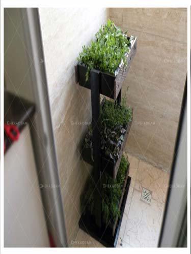 باغچه طبقاتی با ابعاد 80*50*30 سانتی متر