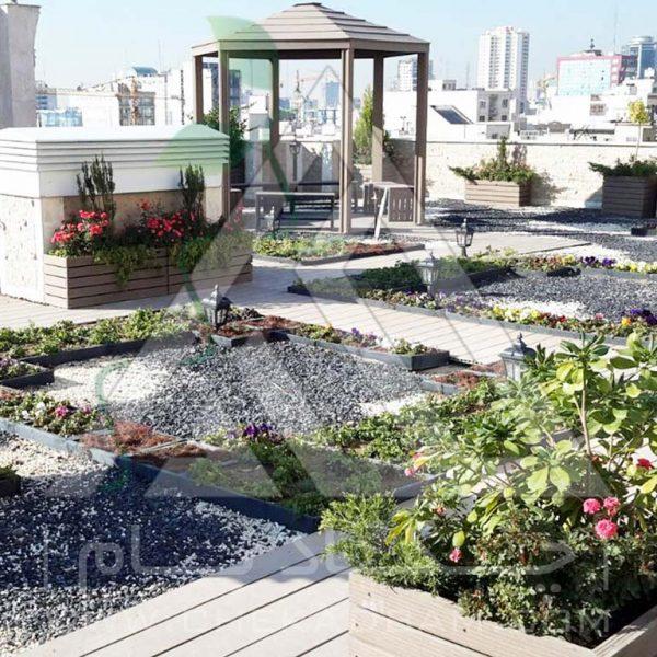 آلاچیق روی پشت بام-پروژه آلاچیق آقای چیتگر ۱۳۹۴