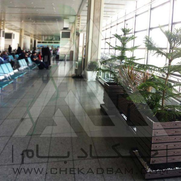پروژه معماری داخلی سبز فرودگاه امام ۱۳۹۴