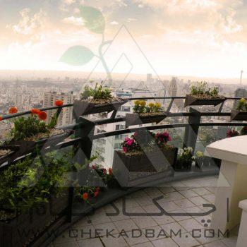 پروژه معماری داخلی سبز آقای محمدزاده ۱۳۹۴