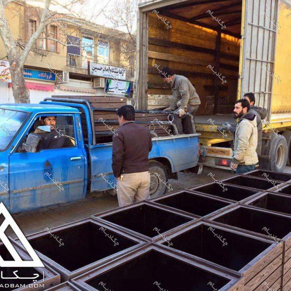 پروژه محوطه آرایی همدان ۱۳۹5