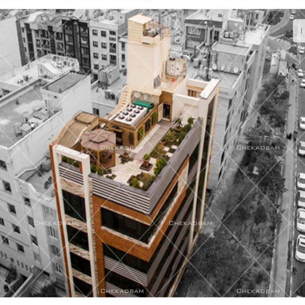 پروژه بام سبز آقای خدایی ۱۳۹۴