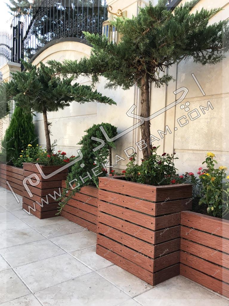 تزیین پارکینگ خانه پروژه محوطه آرایی در منطقه شهرک غرب تهران