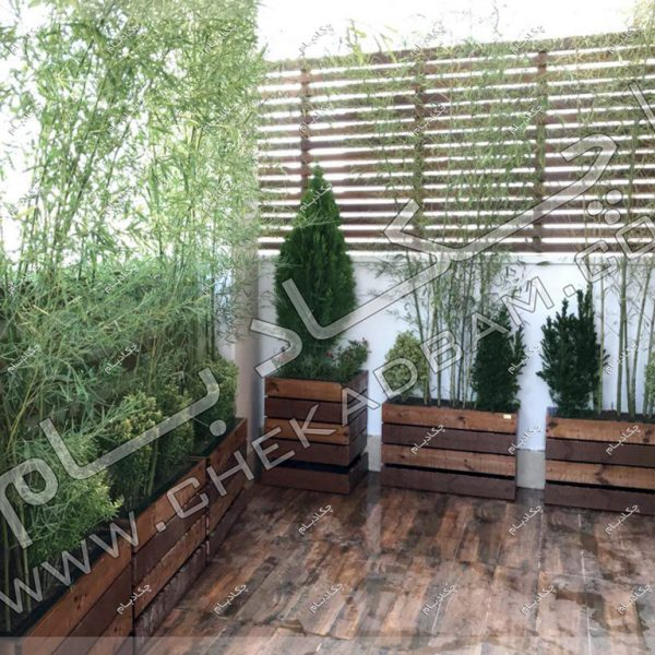 پروژه تراس سبز آقای جهانگیریان 1396