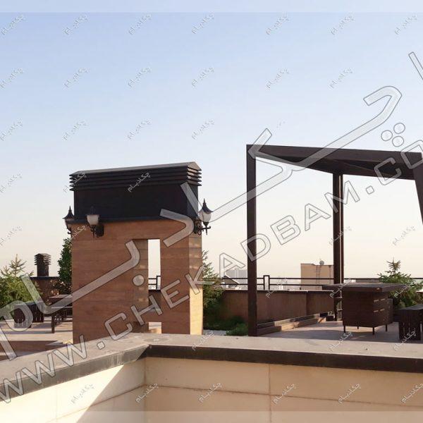پروژه بام سبز-آلاچیق آقای احمدی سال ۱۳۹۶