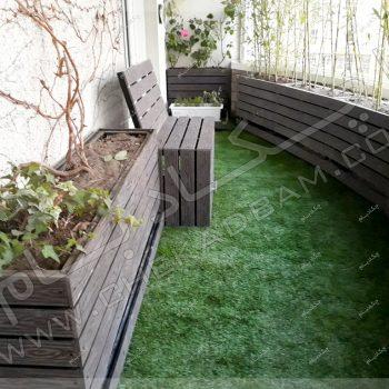 پروژه تراس سبز خانم اتابکی 1396