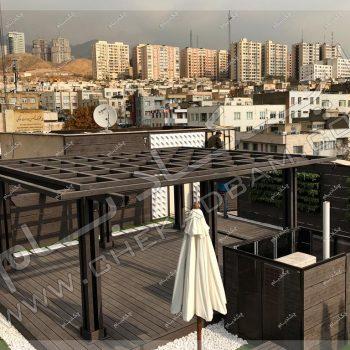 پروژه بام سبز بانک تجارتی ایران و اروپا ۱۳۹۶