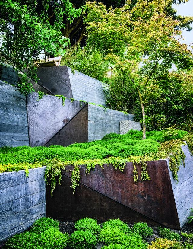 طراحی روف گاردن Hilgard Garden, برکلی، کالیفرنیا