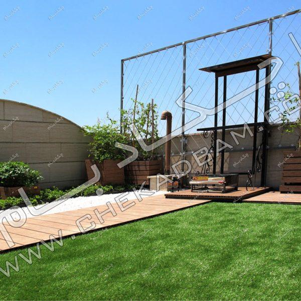 پروژه بام سبز(روف گاردن) جناب حسینی