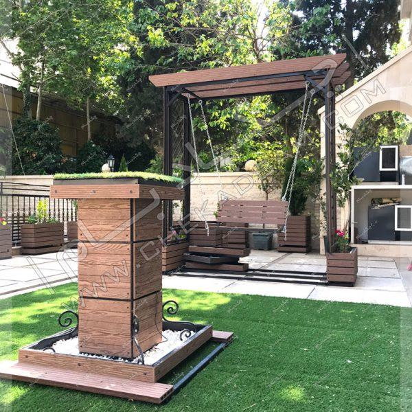 پروژه بام سبز(روف گاردن) جناب سهرابی-روف گاردن در تهران