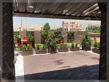 پروژه بام سبز آقای شهابی ۱۳۹۶
