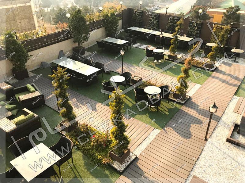 پروژه بام سبز آقای شهابی