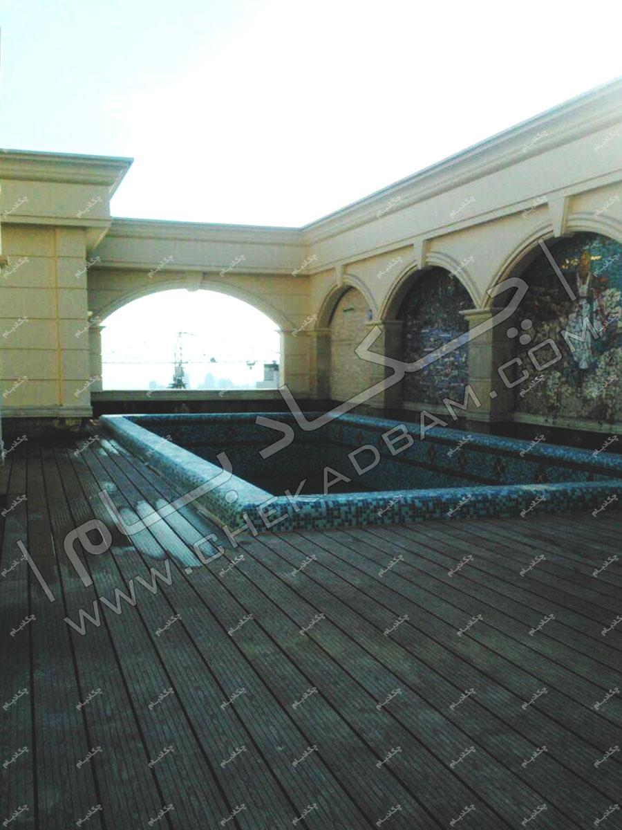 پروژه های کف سازی و نما اجرا شده در سال ۱۳۹۵