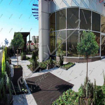 پروژه بام سبز مجتمع صیادشیرازی ۱۳۹۵