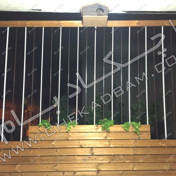 پروژه تراس سبز آقای رحیمی ۱۳۹6