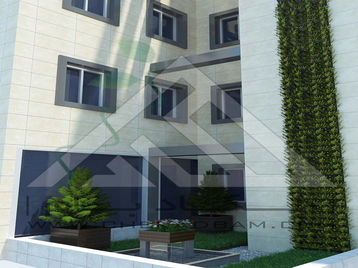 طراحی سه بعدی گرین وال