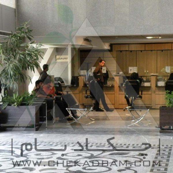 پروژه معماری داخلی سبز ساختمان مرکزی راه آهن تهران ۱۳۹۴