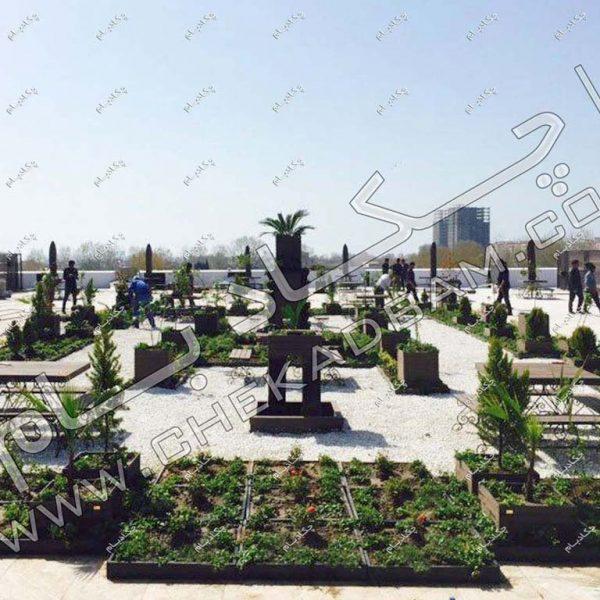 پروژه بام سبز اکسین دریاسر ۱۳۹۶