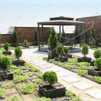 پروژه روف گاردن خانلری-روف گاردن در تهران