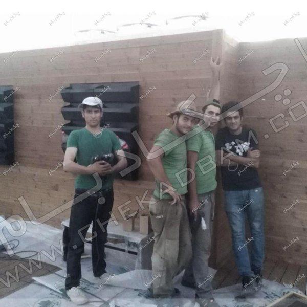 پروژه بام سبز شرکت آرین سعید سال ۱۳۹۶