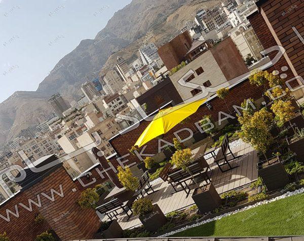 طراحی پشت بام خانه -پروژه بام سبز(روف گاردن) جهاد دانشگاهی