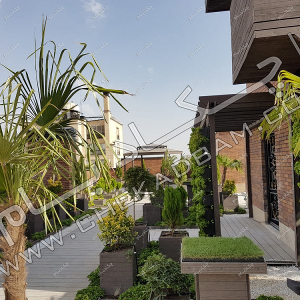اجرای روف گاردن در تهران - اجرای روف گاردن در تهران - پروژه بام سبز(روف گاردن) جهاد دانشگاهی