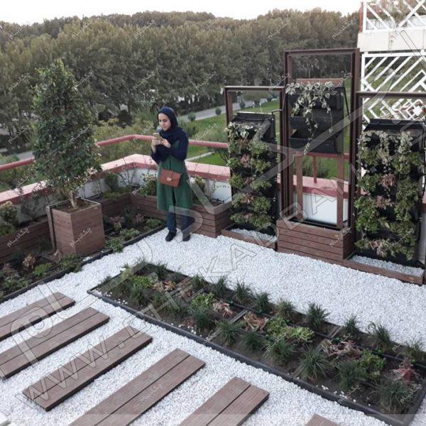 پروژه تراس سبز جناب آقای فولادی